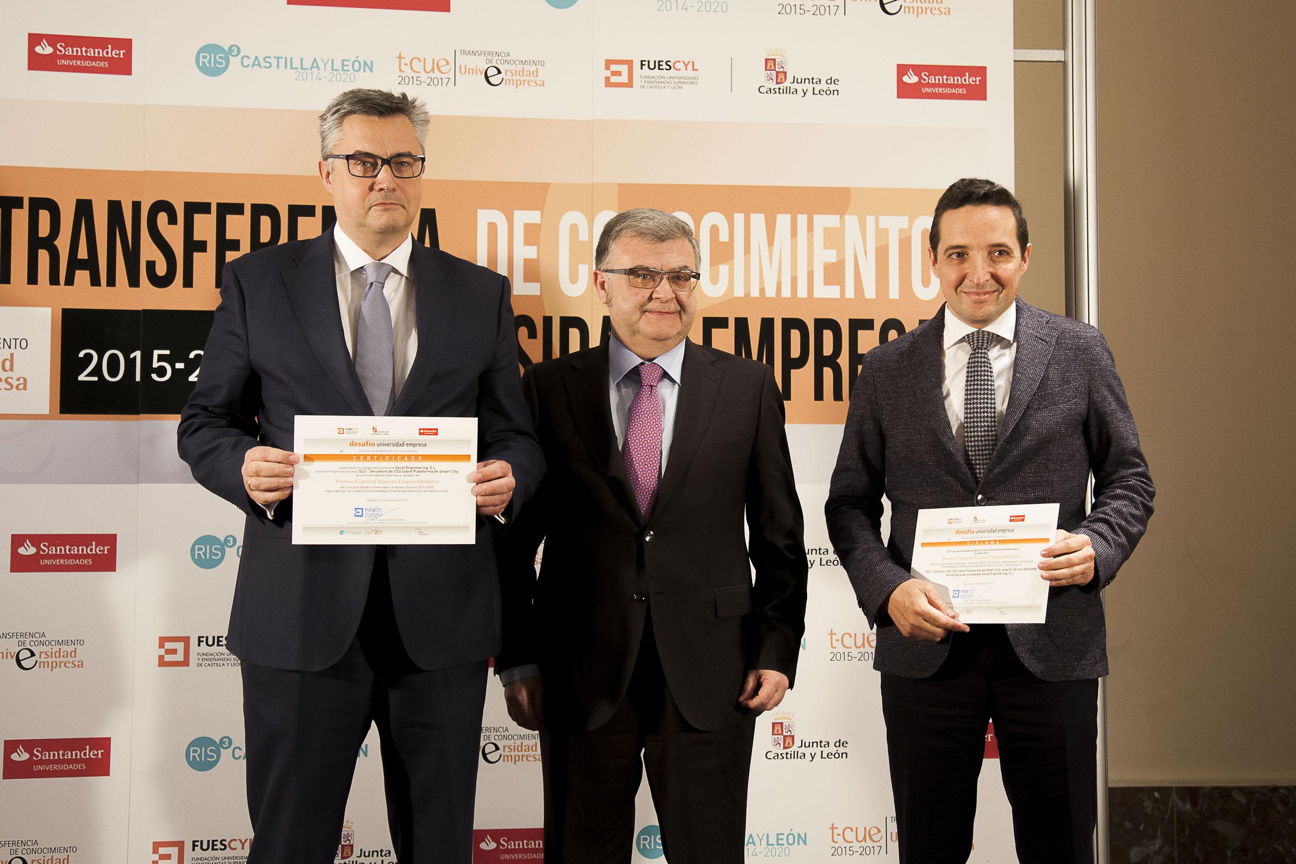 Premio especial Nuevos emprendedores